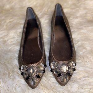 Olivia Miller Flat Embellished Flats Shoes 6